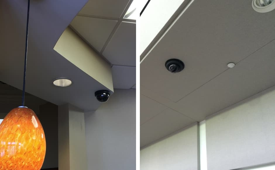 Office Commercial Building Security Camera System Installation West Palm Beach Florida