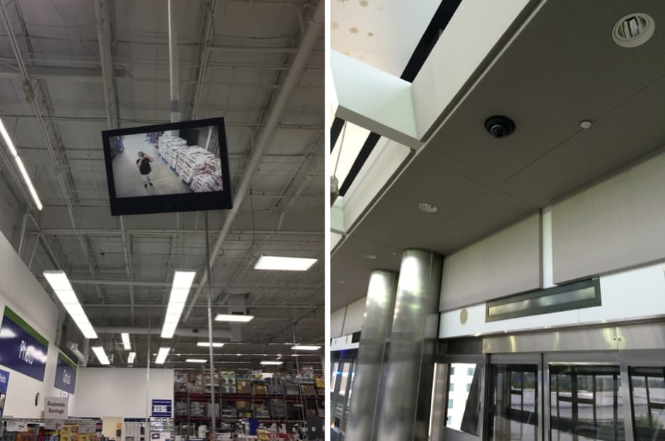 Retail Business Store Security Camera System Installation West Palm Beach Florida