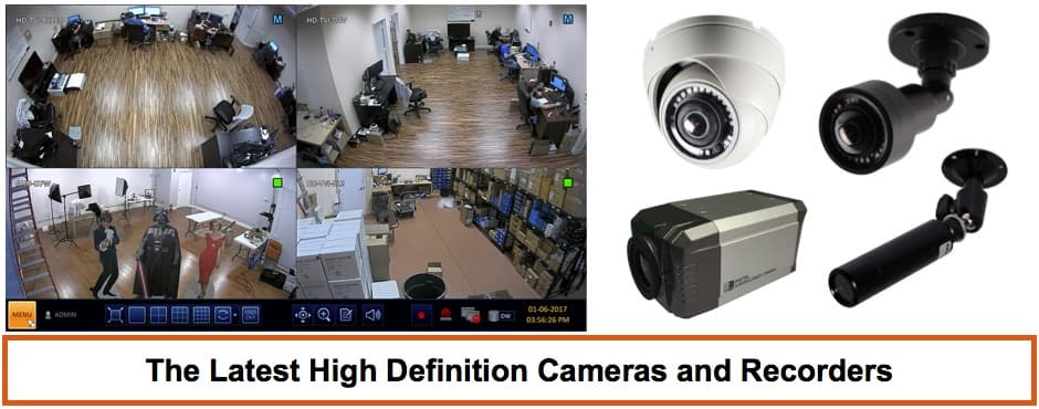 Security Camera System Installation West Palm Beach County Florida