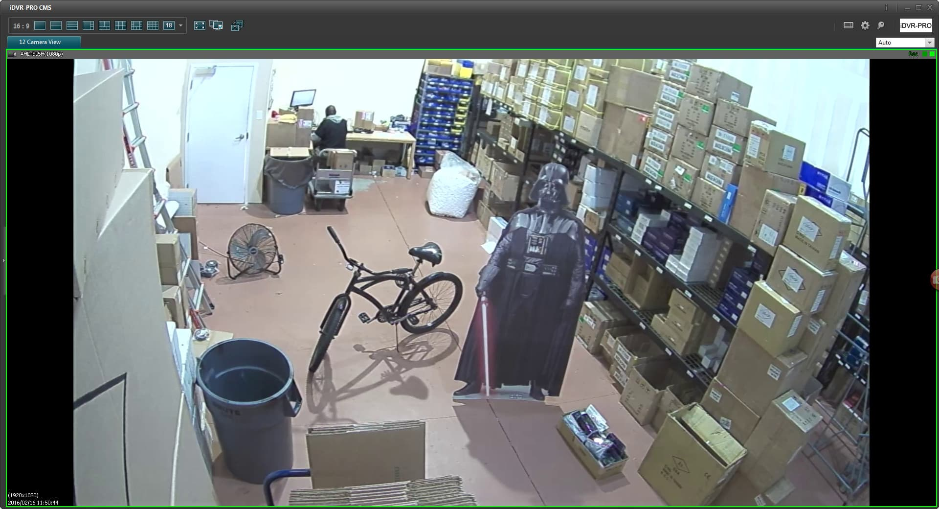 1080p HD Security Camera Live View