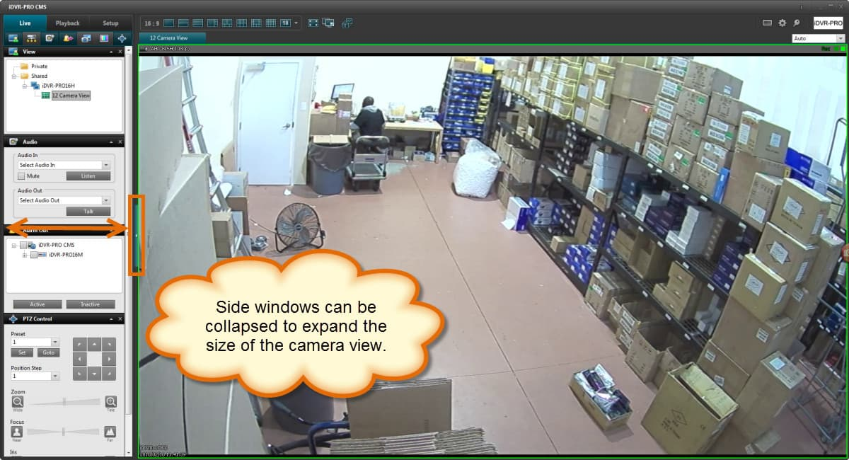 Windows DVR Software HD CCTV Camera Live View