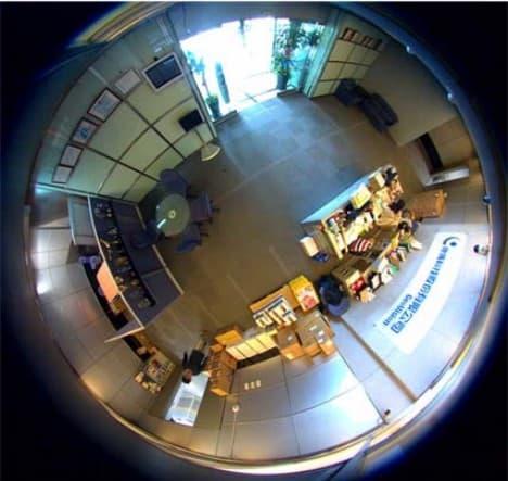 Geovision Mini Ip Fisheye Camera Gv Unfe2503
