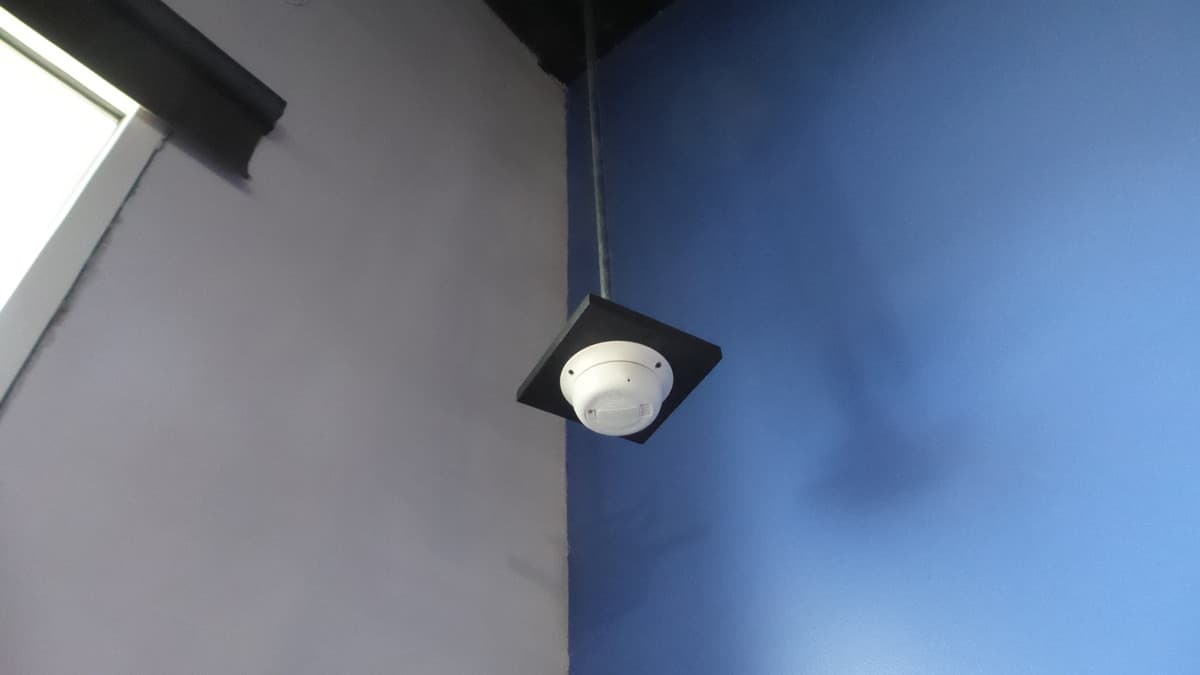 Smoke Detector Camera Video Image