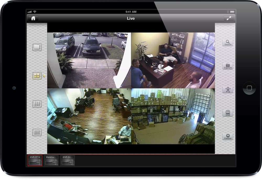 Your IPad Security Cameras