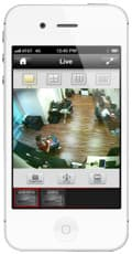 iPhone CCTV Office Camera View