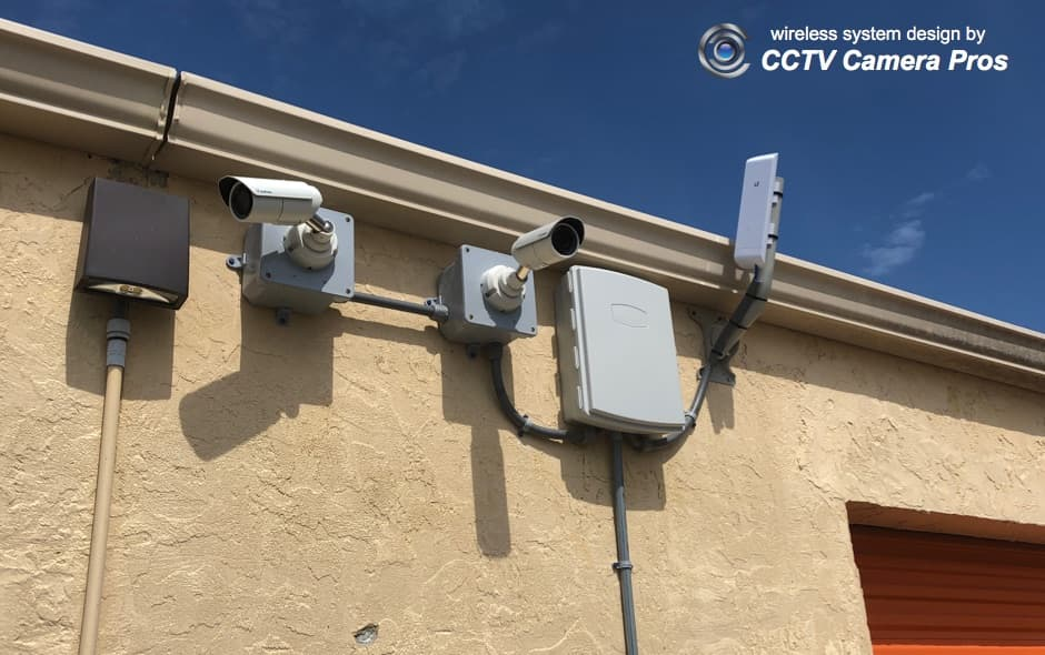 wireless CCTV camera system installation