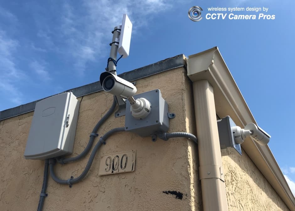wireless surveillance system installation