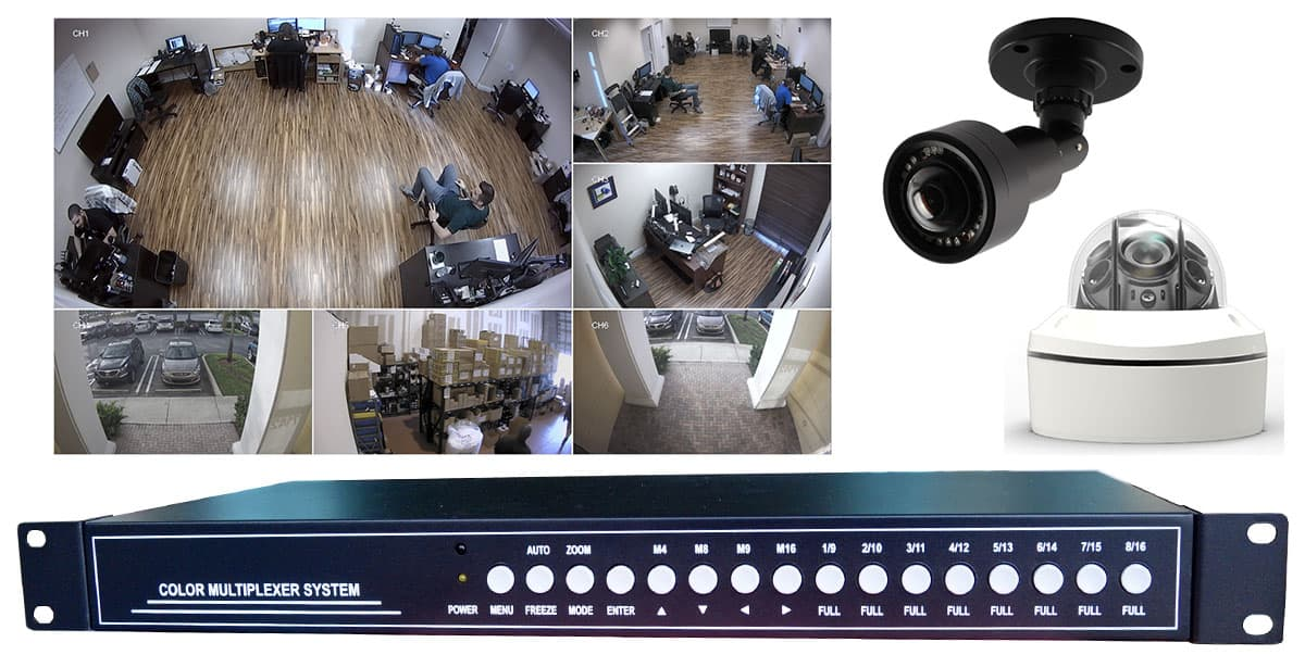 Multiple Camera Live Streaming Video Systems
