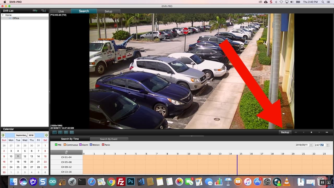 Mac DVR Viewer Software Backup Video