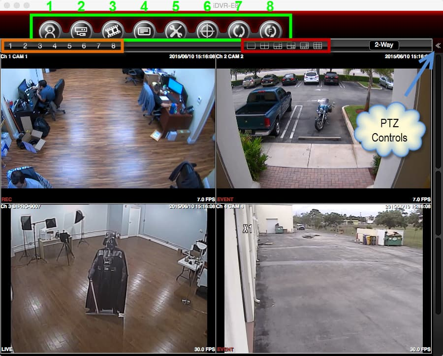 Mac Security Camera DVR Software