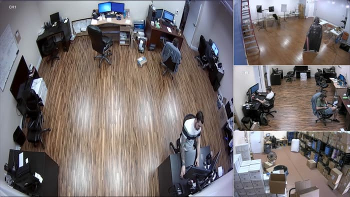 AHD HD-TVI Camera Video Multiplexer