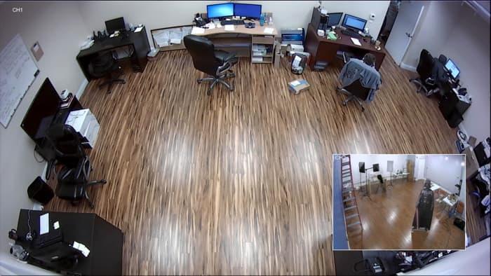 HD CCTV Quad Video Processor - Picture-in-Picture View