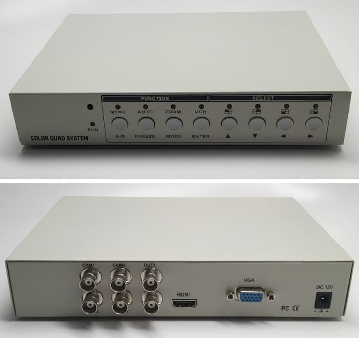 HD CCTV Video Multiplexer