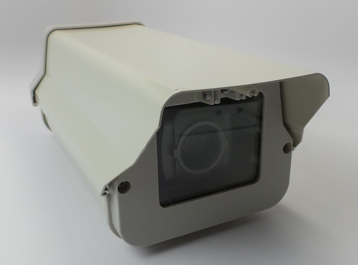 HD Box Security Camera in Outdoor Weatherproof Housing