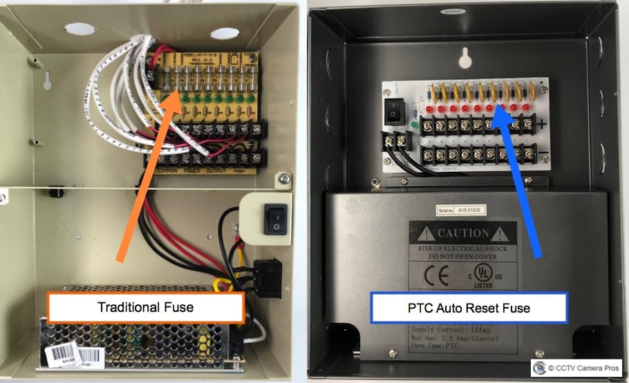 CCTV Power Supply Box, Power Distribution Box for CCTV on