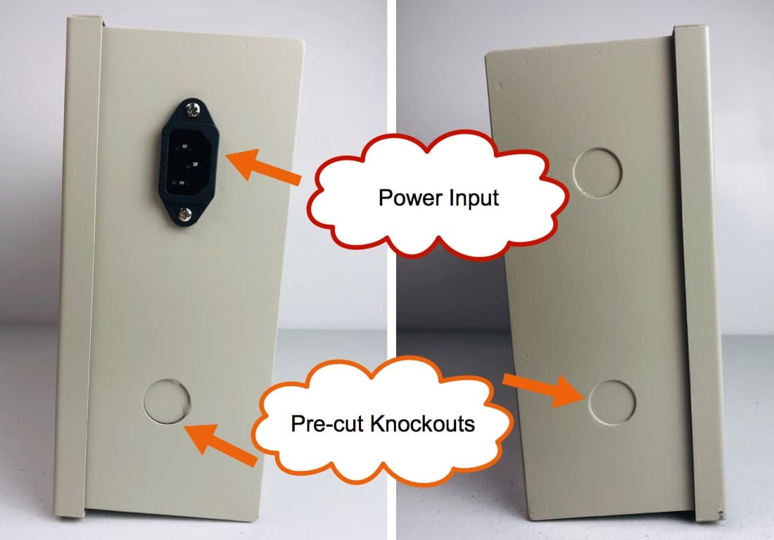 Power Distribution Box for Security Cameras