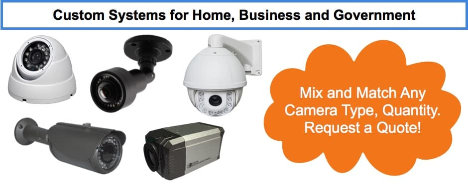 HD CCTV Camera System Quote