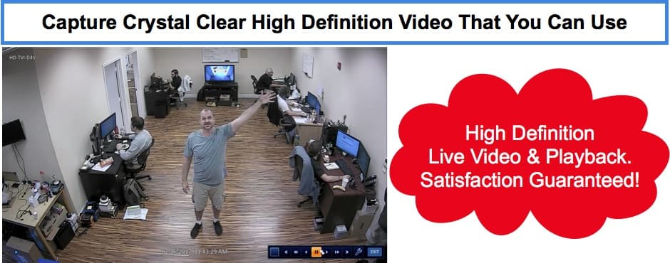 HD Video Surveillance Recording