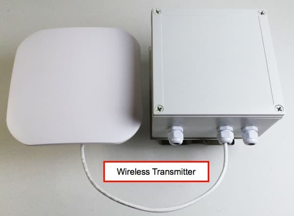 elevator camera wireless transmitter antenna