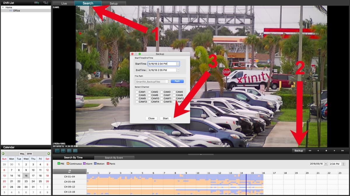 Mac DVR Software Backup Surveillance Video