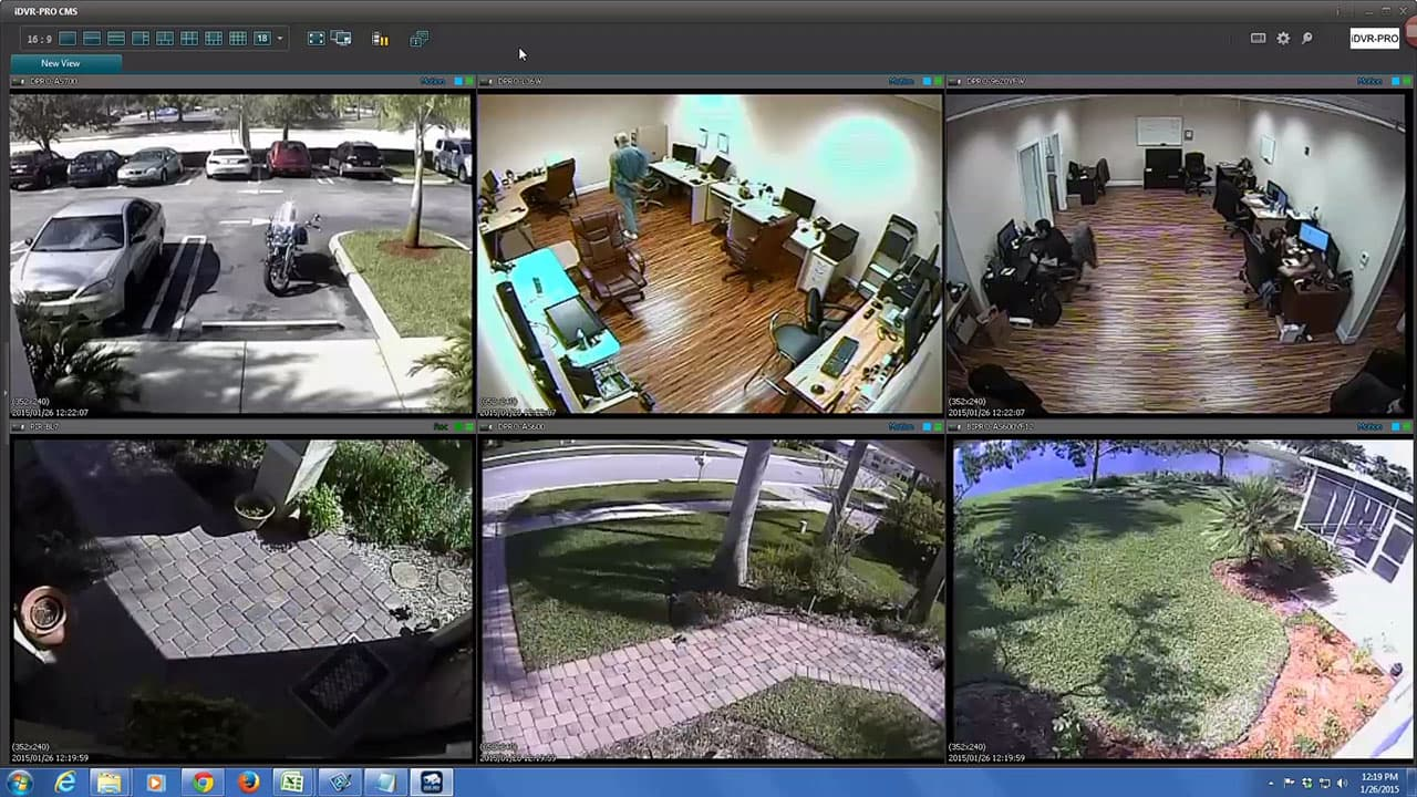 Surveillance DVR Remote Access Software