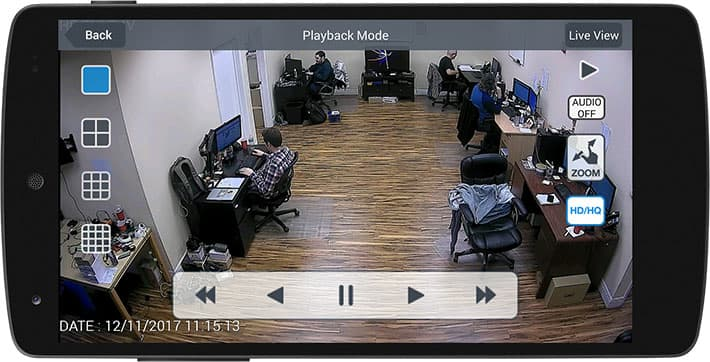 Android App Push Notification from Security Camera Motion Detection