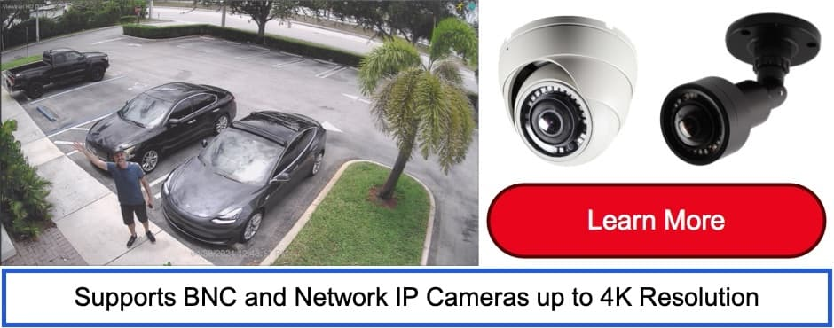 DVR Viewer Connection Setup, Remote Internet Security Camera