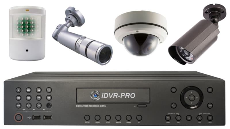 CCTV Digital Video Recorder 8 Camera DVR Mac Compatible
