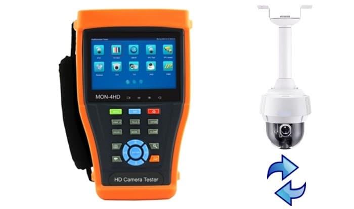 IP Camera Test Monitor ONVIF PTZ Controls