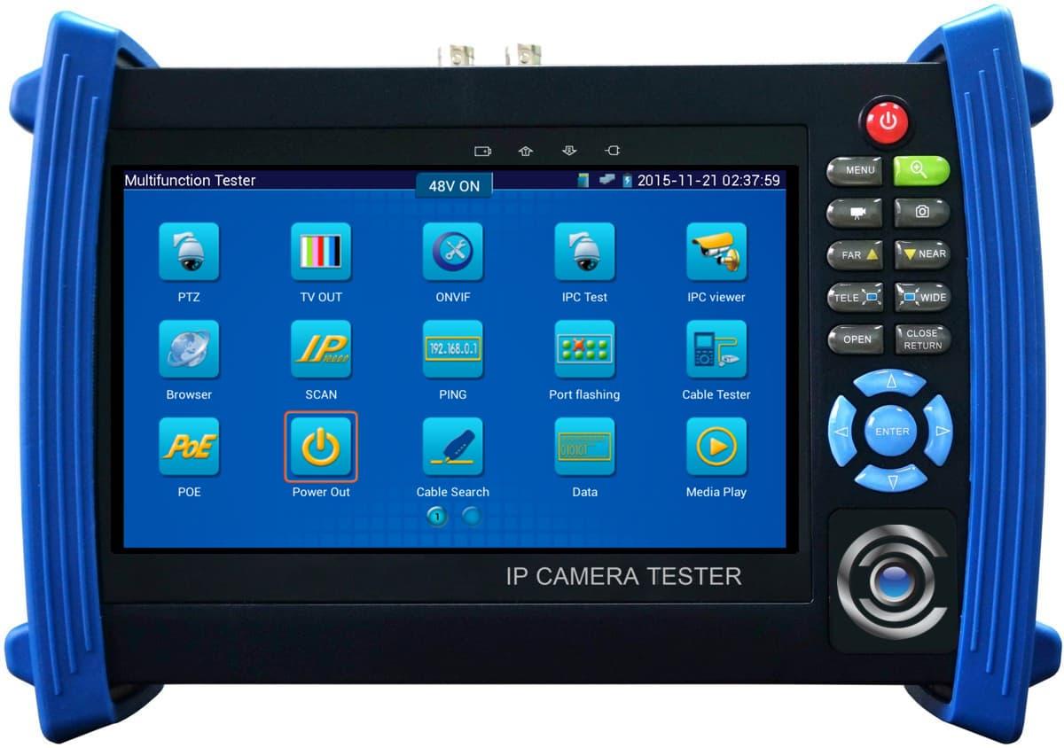 MON-IP7 POE IP Camera Test Monitor