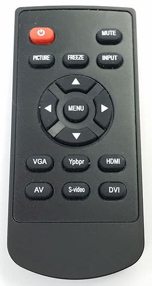 BNC CCTV Monitor Wireless Remote Control