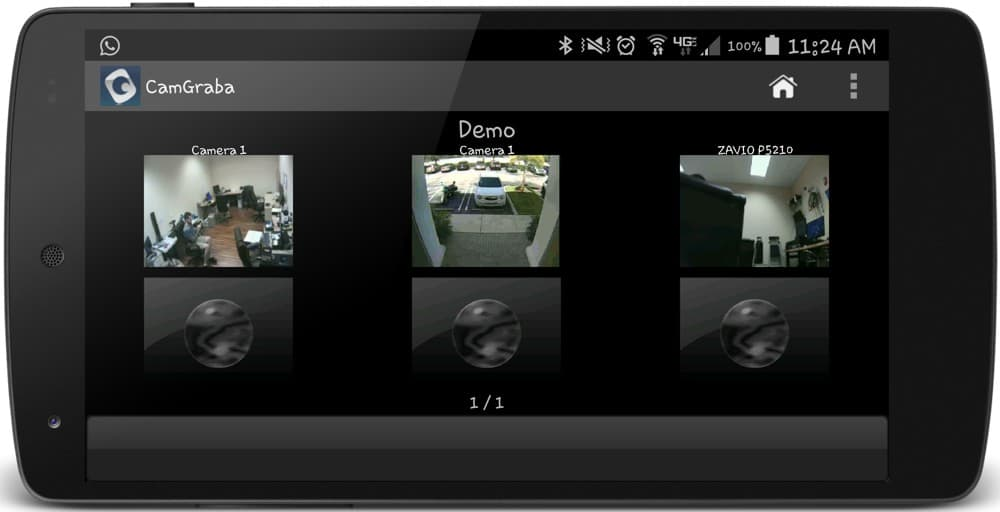 IP Camera NVR Android App