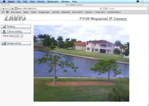 Mac Compatible IP Camera
