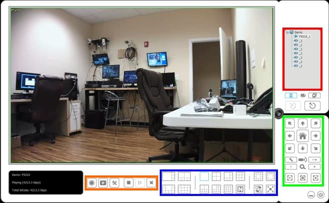 Desktop camera viewer for windows ip/megapixel cameras and.