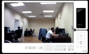 Zavio CamGraba Surveillance Software Live Camera View 1