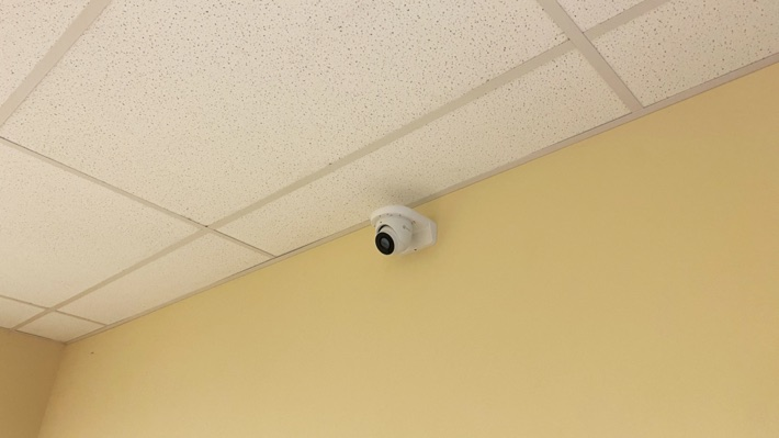 Dome Camera Wall L-Bracket