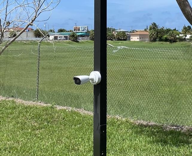 Security Camera Mounting Box