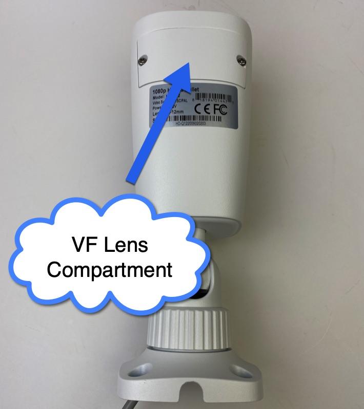 Vari-focal Security Camera Lens