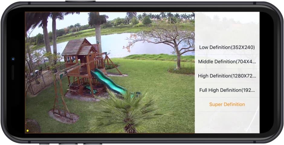 HD Video Surveillance iPhone App