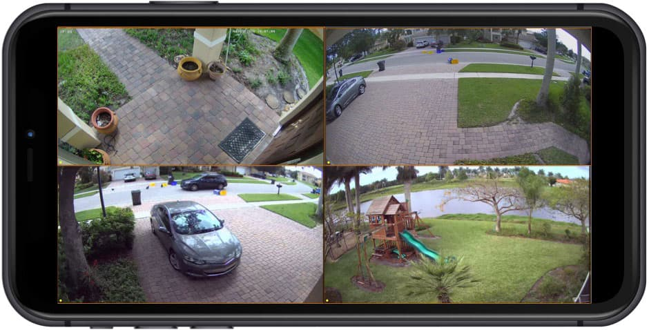 How-to View My Security Cameras from iPhone