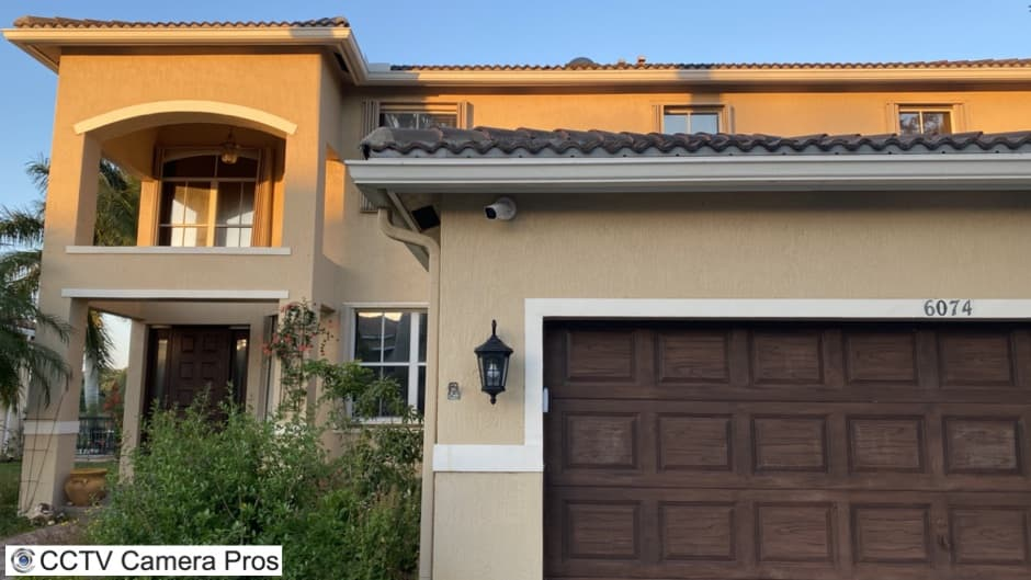 Outdoor Home Security Camera Installation