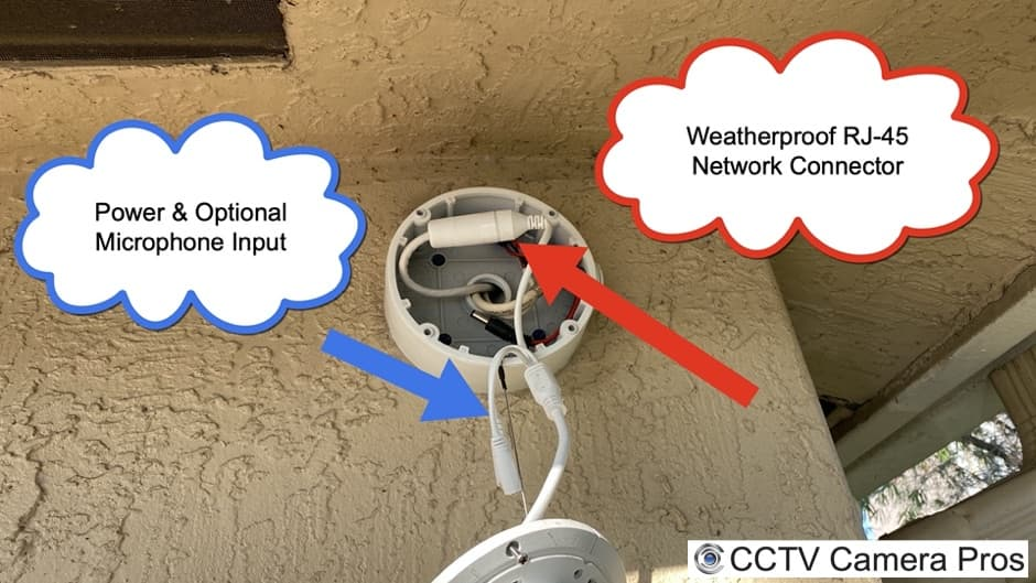 Junction Box Camera Cable
