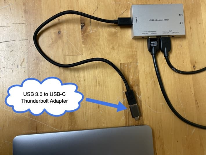 HDMI to USB-C Adapter