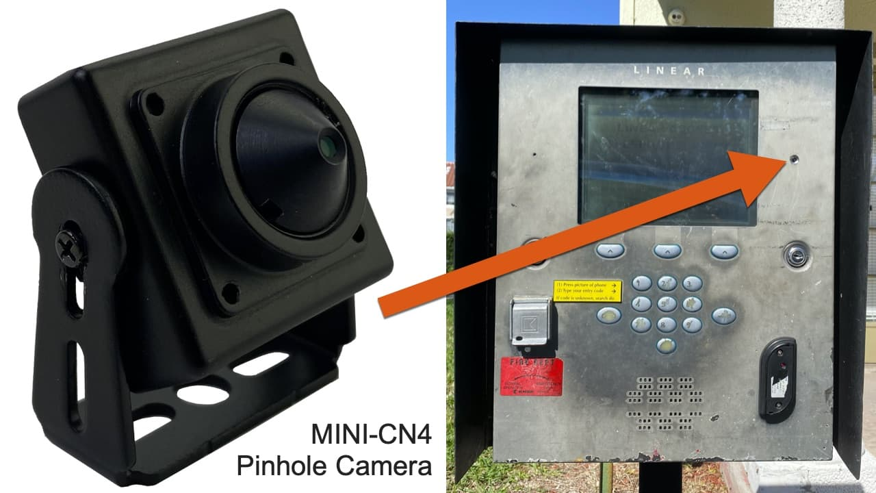 Pinhole Security Camera