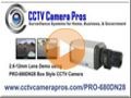 2.8 ~ 12mm Varifocal CCTV Box Camera