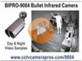 BIPRO-9004 Bullet Infrared Security Camera Video