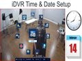 HD CCTV DVR Time Date Setup