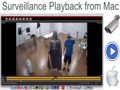 Mac CCTV DVR Client Software Recorded Video Surveillance Playback