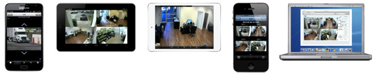 CCTV DVR Viewer Demo for iPhone, iPad, Mac, Android, and PC