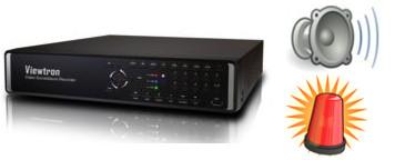 DVR Alarm Input Setup | Viewtron CCTV & HD-SDI Surveillance DVRs